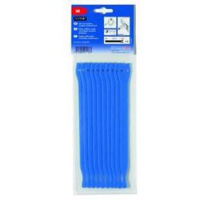 Hellermann tyton Bundelband klittenband 200x12,5 blauw