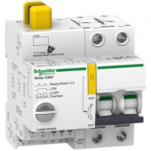 Schneider Electric Reflex ic60h ti24 25 a 2p d mcb+control