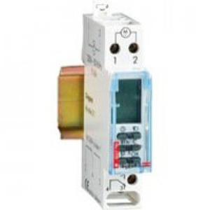 Legrand Tijdschakelklok MicroRex D11 digitaal modulair 1kanaals dag-/weekklok