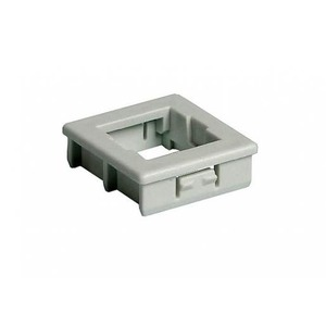 Attema Adapter Onderdeel/Centraalplaat Modular-Jack Modulair element voor schakelmateriaal Kunststof Grijs 1972