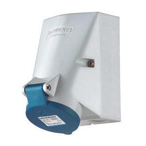 Mennekes WCD 16A 5P 9H 230V IP44 TWINCONTACT