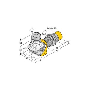 Turck INDUCTIVE SENSOR, FOR THE FOOD INDUSTRY, UPROX+