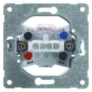 Peha Wipschakelaar 2-polig, 10 A, 250 V met controlelamp