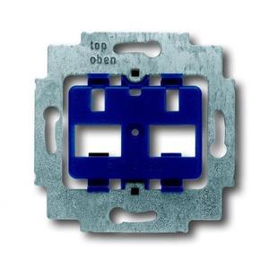 ABB Busch-Jaeger AXCENT, Alpha exclusive, Alpha nea bodemplaat schakelmateriaal 2-voudig Blauw 1710-0-3100