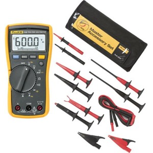 Fluke True RMS multimeter 115 inclusief TL75 meetsnoeren en TLK-225-1
