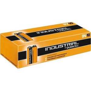 Duracell ID1604 E-BLOK IND.9V ALK. DS10
