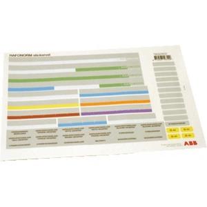 ABB Stickervel installatiekast