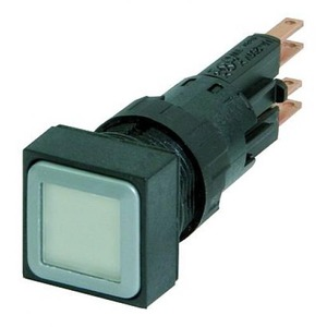 Eaton Signaaldrukknop, wit, terugverend,+gloeilamp 24V