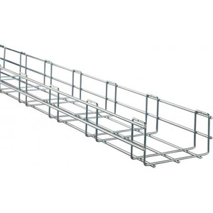 Stago Performa draadgoot u-vorm 400x75x3000mm staal 4511240