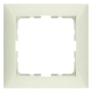 Berker S.1 Afdekraam 1V Cremewit/elektrowit IP20 10118982