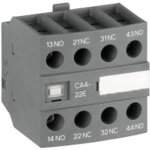 ABB Hulpcontact frontmontage 4blok 3NO+1NC tbv magneetschakelaar AF26, AF38..