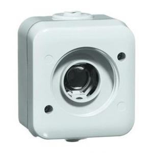 Peha Signaleringsarmatuur geen lamp/schutglasIP54, opbouw , met lamphouder E10