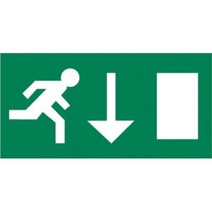 Van Lien Serenga pictogram Vluchtweg Rechtdoor/naar boven 32320004