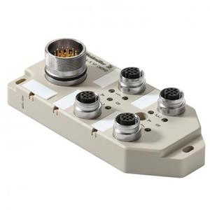 Weidmuller SAI-4-S 5P FC SENSOR-ACTUATOR PASSIVE DISTRIBUTOR (WITHOUT CABLE), COMPLETE MODULE,