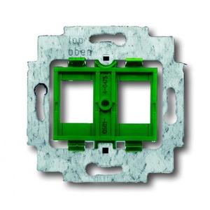 ABB Busch-Jaeger AXCENT, Alpha exclusive, Alpha nea bodemplaat schakelmateriaal 2-voudig Groen 1753-0-8048