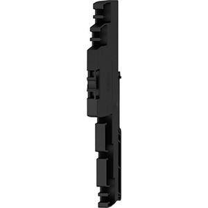Weidmuller END PLATE (TERMINAL), ELECTRONIC FUSE, 125 MMx6.1 MM, BLACK