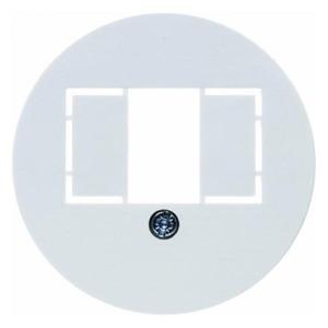 Berker Centraalstuk voor TAE-wandcontactdoos Serie 1930/Glasserie/Palazzo pol