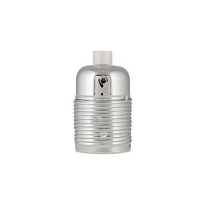 Bailey LAMPHOLDER METAL SCREW E27 CHROME
