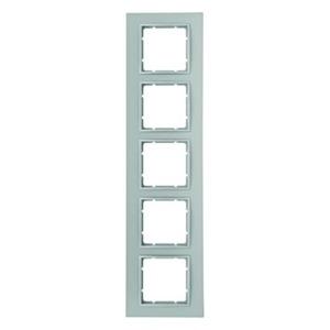 Berker B.7 Afdekraam 5V Aluminium IP20 10156424
