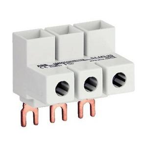 ABB MS SERIES aansluitklem voor hoofdkabel 3p Schroef 3-aansluitingen 1SAM201907R1103