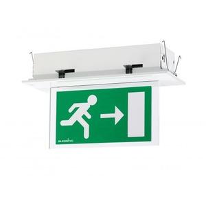 Eaton Blessing LED, inbouw, permanent, signalering, centraal HF, kleur alu
