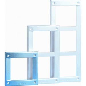Comelit Vandalcom frame-1 module, kleur donkergrijs