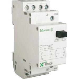 Eaton Installatierelais Z, 250VAC, 20A, Contacten 1M 1V, Breedte 1TE