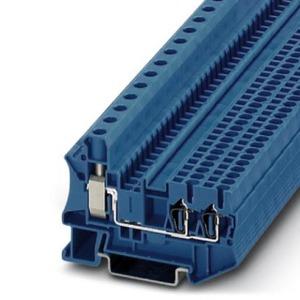 Phoenix Contact STU Verbindingsrijgklem 0,5-16mm²  eendr. 0,5-16mm² meerdr. Blauw 3033142
