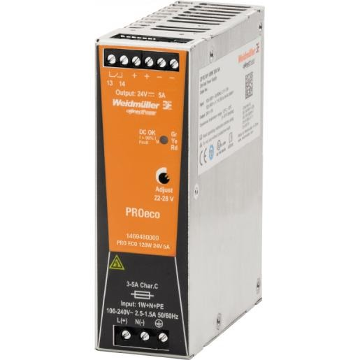 Weidmuller Pro Eco 120W 24V 5A