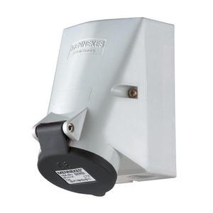 Mennekes WANDCONTACTDOOS, 32A 4P 7H 500V, IP44