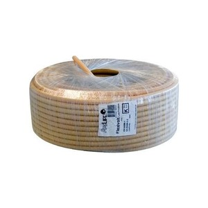 Pipelife Flexivolt Low Friction PVC flexibele buis 16mmx100m creme