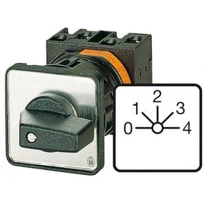Eaton Stappenschakelaar, 1p, Ie=12A, FS 0-4, 45°, vast, 48x48mm, inbouw