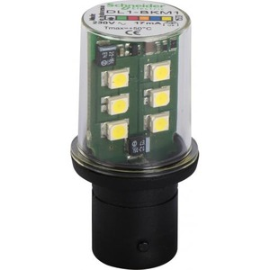 Schneider Electric Knipperlicht led ba 15d fitting wit