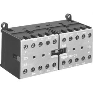 ABB Mini omkeermagneetsch. 4kW 400Vac 3polig spoelcode (0..1) Hulpcontact