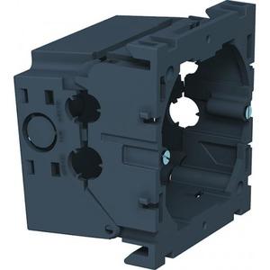 OBO Apparatuurinbouwdoos enkel 71x76x51, PA, Grijs, RAL 7011