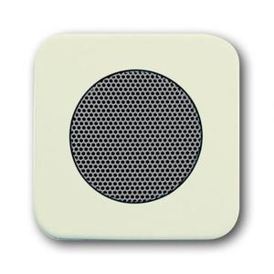 ABB Busch-Jaeger SI bedieningselement Luidspreker Centraalplaat Crèmewit (elektrowit) 2CKA008200A0076