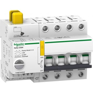 Schneider Electric Reflex ic60n ti24 40 a 4p c mcb+control