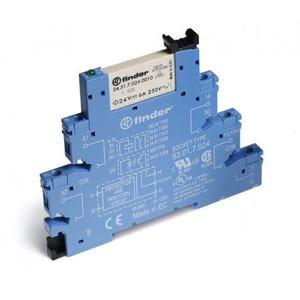 Finder INTERF.RELAIS 1W 6A 60VDC S.