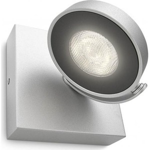 Philips CLOCKWORK single spot aluminium 1x4.5W