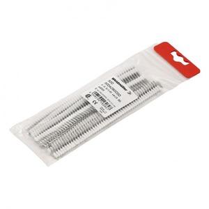 Weidmuller Connecting elements adereindhuls 1,5mm² 14mm Geïsoleerd Rood 9004340000