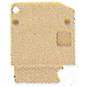 Weidmuller AP PA V.DK4/35 AFSLUITPLAAT 35926
