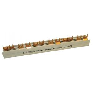 Hager Aansluitrail 4P 10mm2 12M