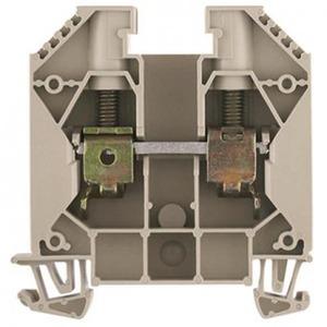 Weidmuller W-serie Verbindingsrijgklem 1,5-16mm²  eendr. 1,5-25mm² meerdr. Beige 1020400000