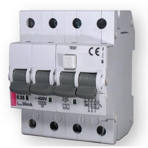 ETI KZS aardlekautomaat 4p 10A 0,03A C 431001162