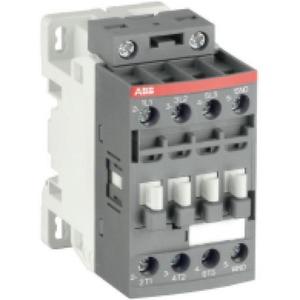ABB Magneetschakelaar 4kW 400V 3P 1NO Met laag spoelvermogen, v PLC aans