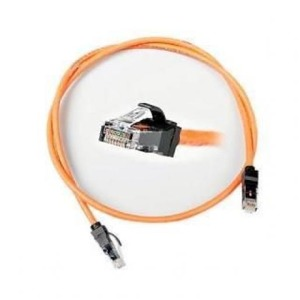 NCS ESSENTIAL-6 PATCH CORD CATEGORY 6 UNSCREENED LSZH ORANGE BOOT 1M ORANGE
