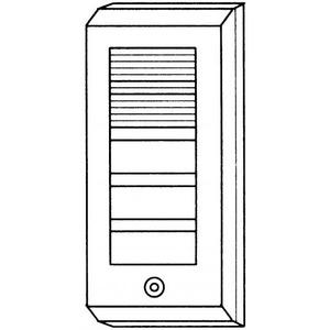 Atea Ab193 deurluidspreker opbouw wit