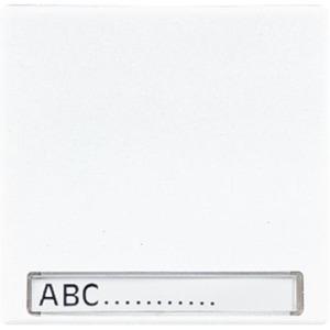 Jung LS range bedieningselement Aan-/uit-schakelaar Enkele wip Wit LS990NAWW