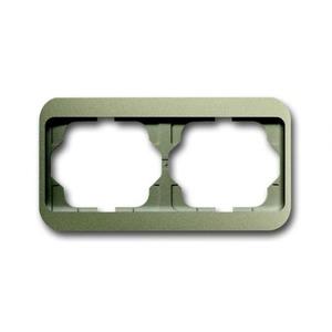 ABB Busch-Jaeger Alpha nea Afdekraam 2V Horizontaal IP20 1754-0-4401