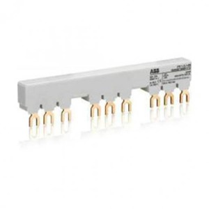 ABB verzamelrail voor 3 MS116/MS132, Ie=65A zonder hulpcontact